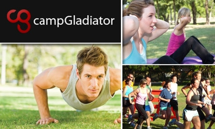 Camp Gladiator - Dallas: $69 for Four Weeks of Unlimited Fitness Boot-Camp Sessions at Camp Gladiator Dallas ($160 Value)