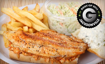 $40 Groupon to Beachside Seafood  - Beachside Seafood in Jacksonville Beach