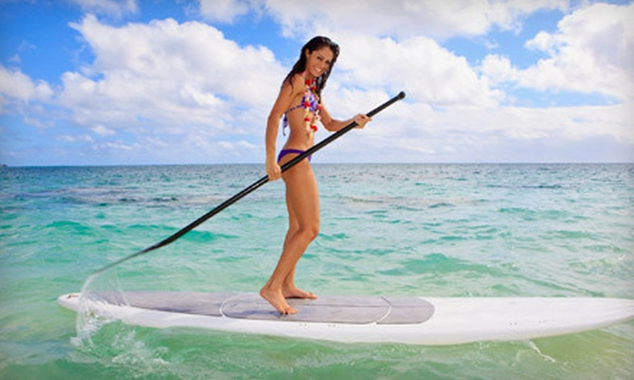 Live2kite - Larkspur: Two-Hour Standup-Paddleboard Lesson for One or Two at Live2kite (51% Off)