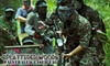 Splattered Woods Paintball & Laser Tag - Montgomery: $15 for Four Hours of Paintball (Including Paintball-Gun Rental, CO2, and One Bag of Paintballs) or Two Hours of Laser Tag (Including Laser-Gun Rental) at Splattered Woods ($30 Value)