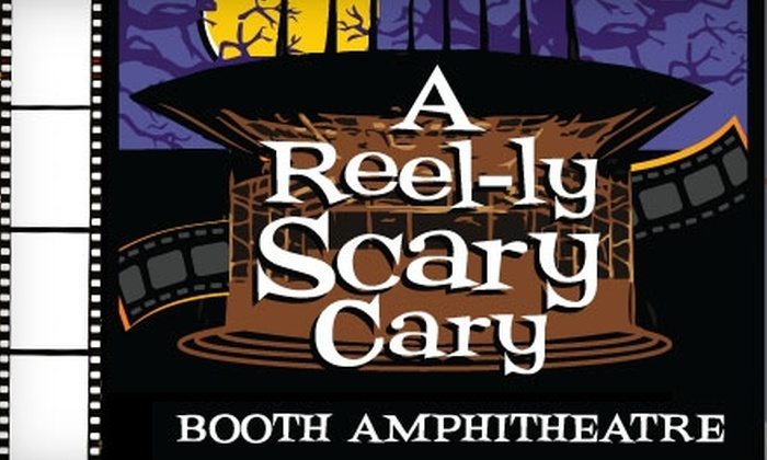 Koka Booth Amphitheatre - Cary: $3 for Two Tickets to A Reel-ly Scary Cary Movie Series at Koka Booth Amphitheatre ($6 Value)