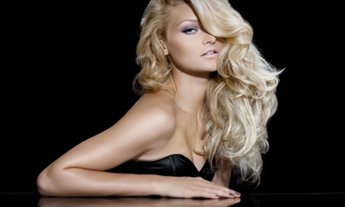 Designing Style, Inc - Clarence: $40 for an Aveda Mani-Pedi with Cut and Style at Designing Style, Inc. in East Amherst (Up to $80 Value)