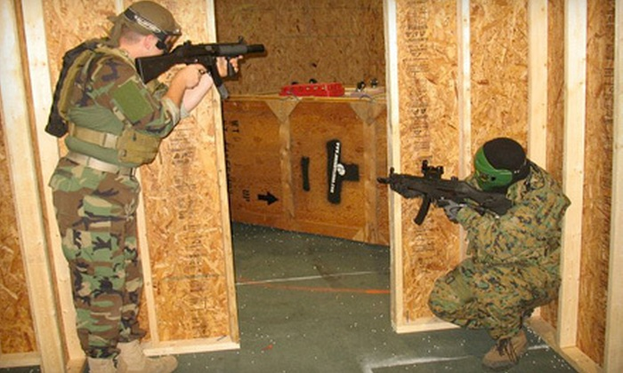 Steel City Airsoft - Oakdale: All-Day Airsoft Outing with Gear Rental for One, Two, or Four at Steel City Airsoft in Bridgeville (Up to 62% Off)