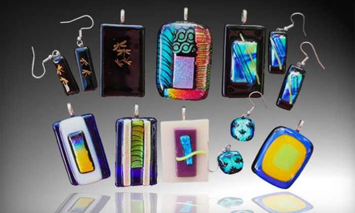 Hollander Glass Chicago - Wood Dale: Glass-Fusing Class for One or Two at Hollander Fusing Center Chicago in Wood Dale