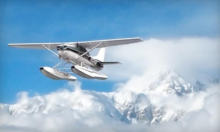 Alaska Bush Float Plane Service - Talkeetna: $95 for a Mount McKinley South-Face Tour from Alaska Bush Float Plane Service in Talkeetna ($190 Value)