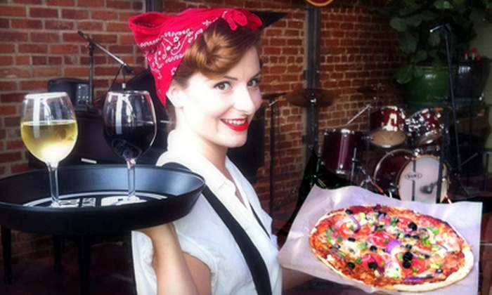 Witzend - Venice: Pizza and Performance for Two or $10 for $20 Worth of American Fare for Lunch at Witzend in Venice