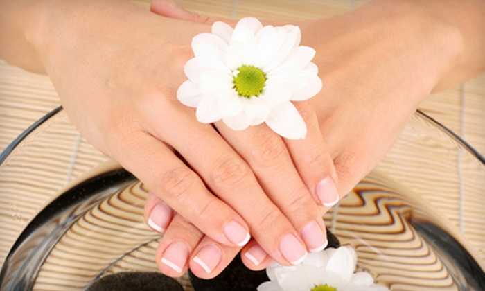 The Hair Co. - Grant: One or Two Revitalizing Mani-Pedi Packages at The Hair Co. in Kenosha