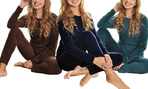 Women's Fleece or Velvet Loungewear Set (Single Set or 3 Set Pack)