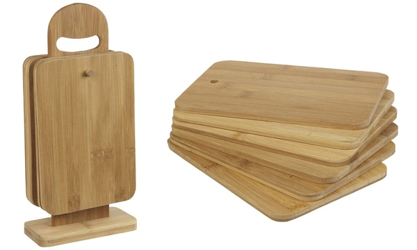 Up To 70 Off Six Piece Chopping Board Set Groupon