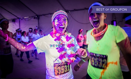 C$33 for One Entry to The Neon Run 5K on Saturday, September 19 (C$54 Value)