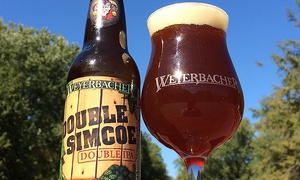 Weyerbacher Brewing Company: Beer Tasting with Growlers for Two or Four at Weyerbacher Brewing Company (Up to 38% Off)