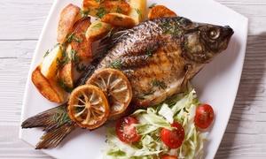 Ristorante Da Rudy: Menu Royal di pesce e aperitivo di bollicine per 2 o 4 persone presso Ristorante Da Rudy (sconto fino a 66%)