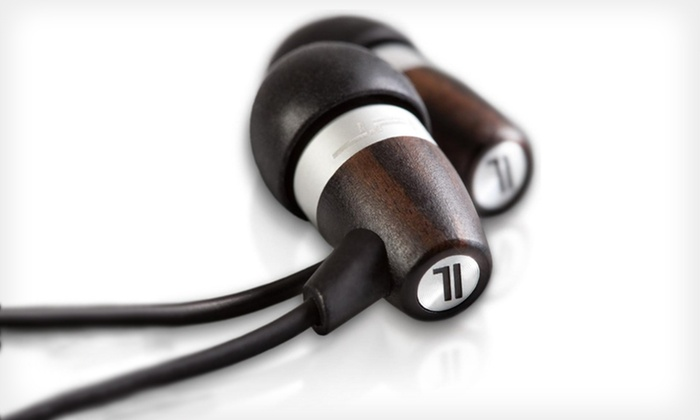 JLab Wood and Metal Fusion Earbuds: $19 for JLab Acoustic Ebony Wood and Metal Fusion Earbuds ($89.95 List Price). Free Shipping.