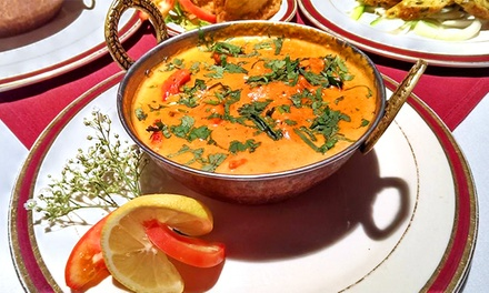 Indian Food During Lunch or Dinner at Sultan Indian Cuisine (Up to 49% Off)