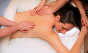 60-minute Two- Or Four-handed Hot-stone Or Therapeutic Massage At Kævelle Massage (up To 46% Off)