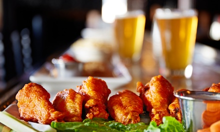 Food and Beverages or Beer Tasting with Appetizers for Two at Blue Room Bar (Up to 43% Off)