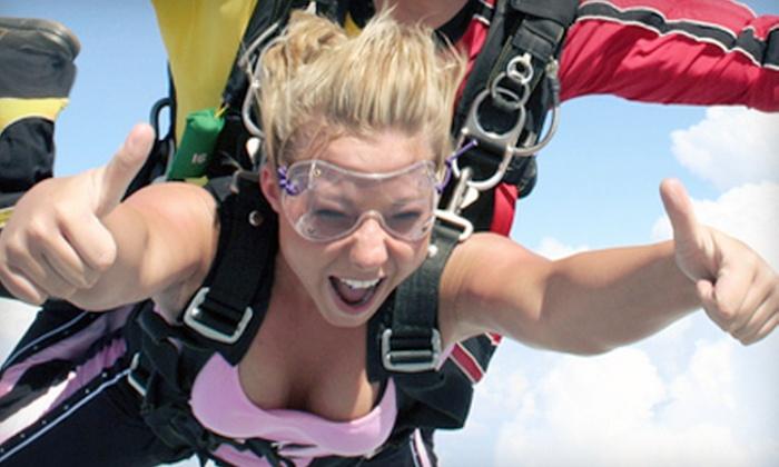 South Carolina Skydiving - Andrews: $139 for a Tandem Skydiving Jump at South Carolina Skydiving ($279 Value)