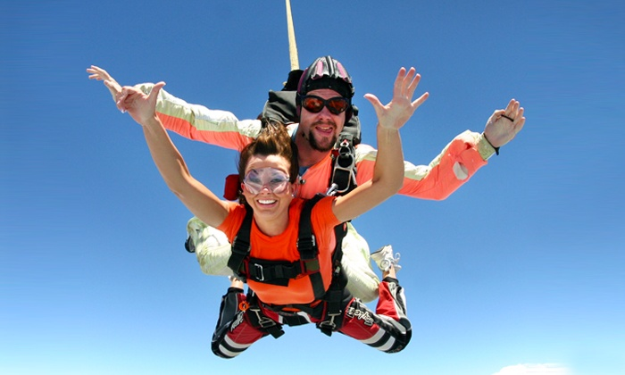 South Carolina Skydiving - Andrews: One or Two Groupons, Each Good for One Tandem Skydiving Jump at South Carolina Skydiving (47% Off)