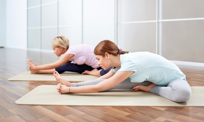 Club Pink Fitness For Women - Westampton: Five Yoga Classes at Club Pink Fitness for Women (44% Off)