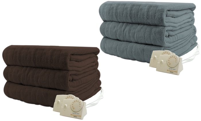 Biddeford Heated Blankets Groupon Goods