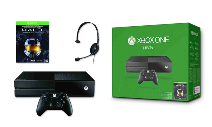 Xbox One 1tb With Halo The Master Chief Collection Download