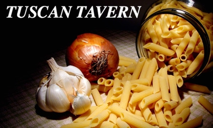 Tuscan Tavern Cucina & Bar - Warren: $15 for $30 Worth of Italian Fare and Drinks at Tuscan Tavern Cucina & Bar