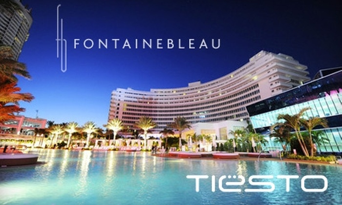 Impulse Event Productions - Oceanfront: $325 General-Admission Ticket to Tiesto's NYE Party at Fontainebleau Miami Beach ($450 Value) or $8,000 for a Private VIP Lawn Cabana for 15 People ($10,000 Value)