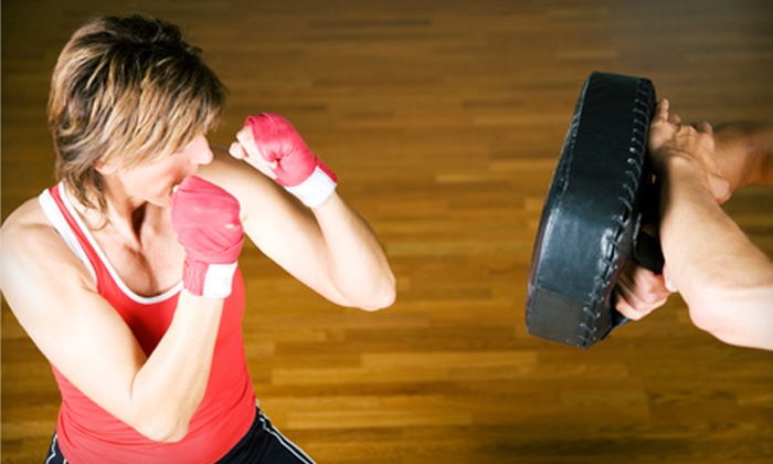 InFightingShape - Flatiron District: 5 or 10 Introductory Boxing Classes at InFightingShape