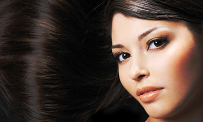 Salon Intrigue - Wichita: $19 for $40 Worth of Hair and Waxing Services at Salon Intrigue