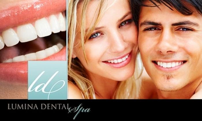 Lumina Dental Spa - Greenway/ Upper Kirby: $149 for a Zoom! Teeth Whitening Treatment at Lumina Dental Spa ($500 Value)