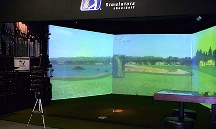 Randy Henry's Dynamic Golf - Coeur d'Alene: $25 for One Hour of Golf-Simulator Time for Up to Four People at Randy Henry's Dynamic Golf ($50 Value)