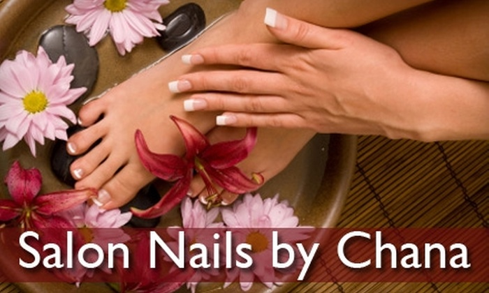 Salon Nails by Chana - Raleigh / Durham: $24 for a Classic Manicure and Pedicure at Salon Nails by Chana ($50 Value)