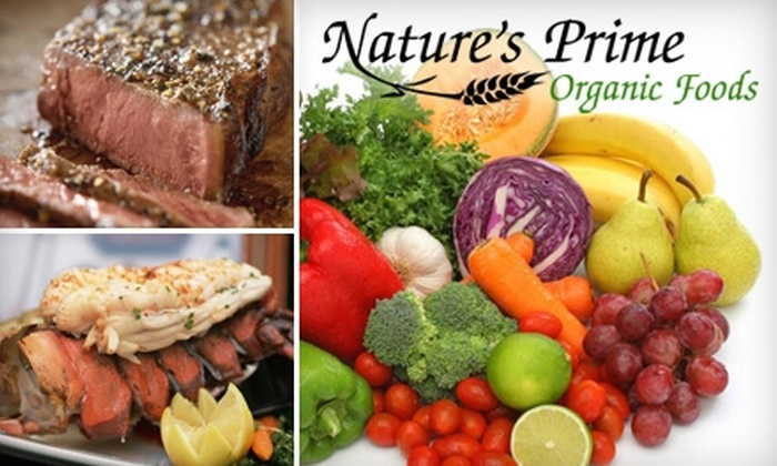 Nature's Prime Organic Foods - Cedar Rapids / Iowa City: $35 for $75 Worth of Home-Delivered Organic Food from Nature's Prime Organic Foods
