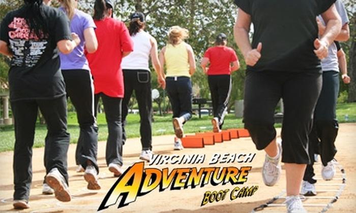 Virginia Beach Adventure Bootcamp - Multiple Locations: $25 for Eight Fitness Classes at Virginia Beach Adventure Boot Camp ($120 Value)