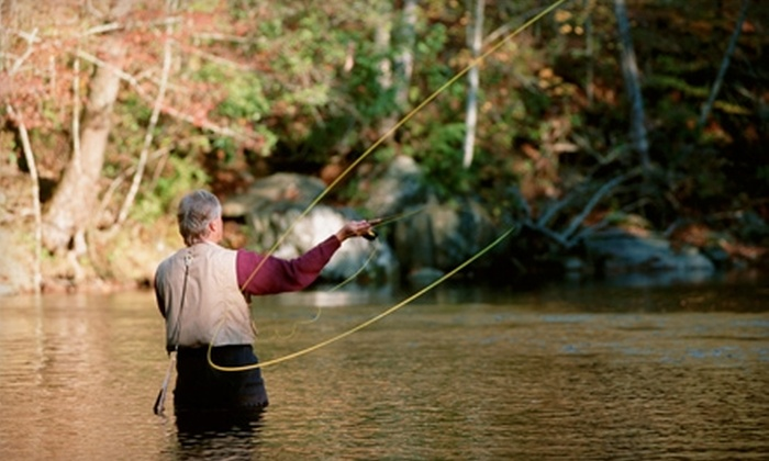 The Albemarle Angler - Barracks Road: $99 for a Half Day of Guided Fly-Fishing for Up to Two People from The Albemarle Angler in Charlottesville ($225 Value)
