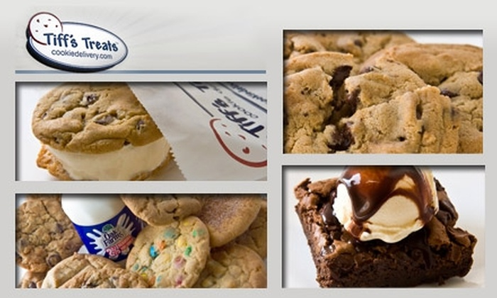 Tiff's Treats - Multiple Locations: $10 for $20 Worth of Fresh-Baked Cookies from Tiff's Treats