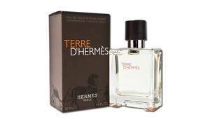 Hermès Terre D'Hermès Eau de Toilette for Men (1.7 or 3.3 Fl. Oz.) at Hermès Terre D'Hermès Eau de Toilette for Men (1.7 or 3.3 Fl. Oz.), plus 6.0% Cash Back from Ebates.
