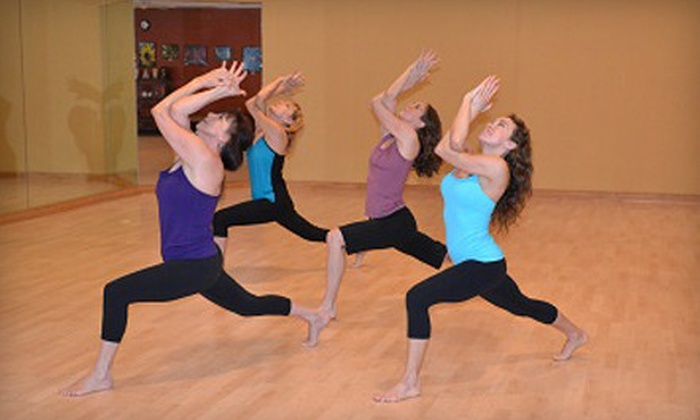 Yoga in Motion - San Antonio: $39 for 10-Class Card at Yoga in Motion ($120 Value)
