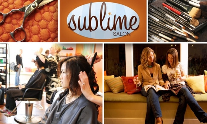 Sublime Salon - Pacific Heights: $50 for $100 Worth of Hair and Makeup Services at Sublime Salon