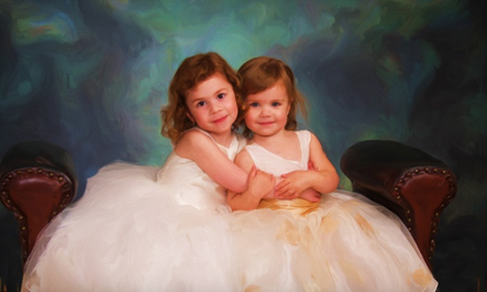 "Bushard Photography - West Bloomington: $99 for a Photo Session and 11""x14"" Photo-Painting Canvas at Bushard Photography in Bloomington ($270 Value)"