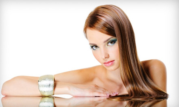 A Day Away Salon & Spa - Fort Wayne: $99 for a Brazilian-Blowout Keratin Smoothing Treatment at A Day Away Salon & Spa ($200 Value)