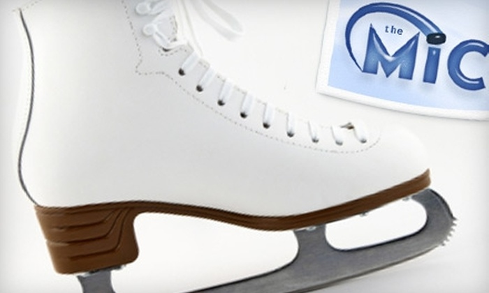 Marietta Ice Center - Northeast Cobb: $9 for Two Open-Skate Sessions with Skate Rental at Marietta Ice Center (Up to $20 Value)