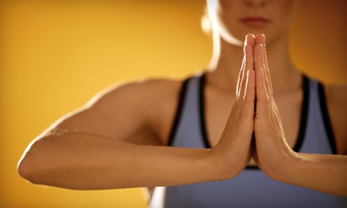 The Yoga Studio of Shelby - Utica: Five Yoga Classes or One Month of Unlimited Yoga at The Yoga Studio of Shelby (Up to 73% Off)