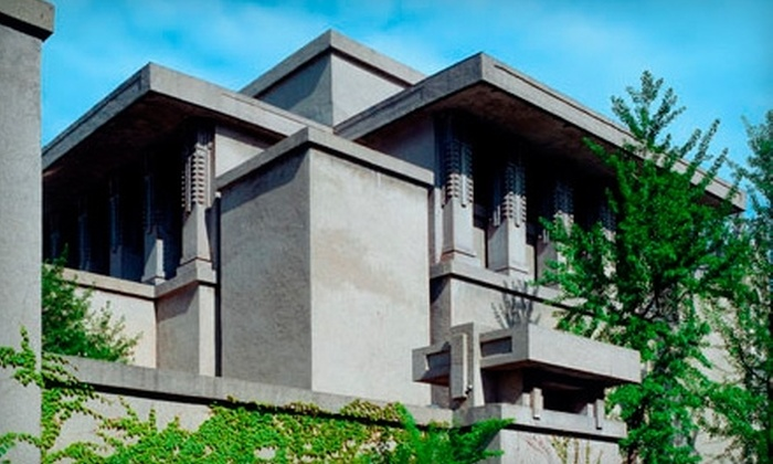 Unity Temple - Oak Park: $9 for Two Admission Tickets to Frank Lloyd Wright's Unity Temple (Up to $18 Value)