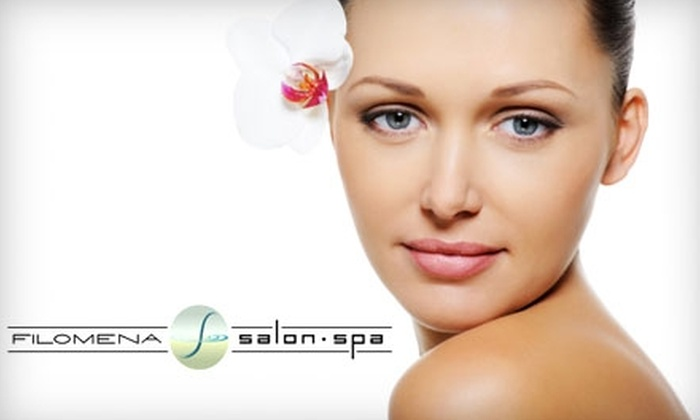 Filomena Salon Spa - Maillardville: $66 for a Spa Package at Filomena Salon Spa in Coquitlam ($140 Value)
