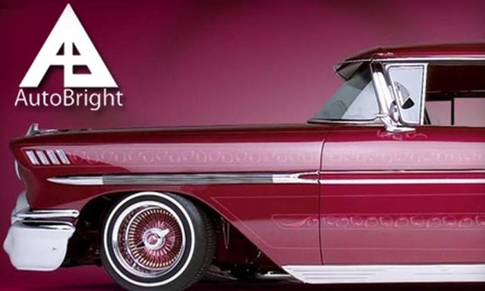 AutoBright Car Wash - Framingham: $25 for Five Gold Carwashes at AutoBright Car Wash in Framingham ($59.80 Value)