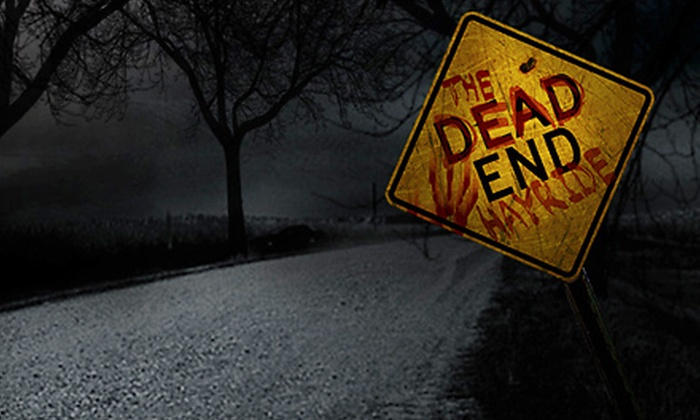 Dead End Hayride - Wyoming: Dead End Hayride Adventure for Four on Wednesday, Thursday, Friday, Saturday, or Sunday in Wyoming