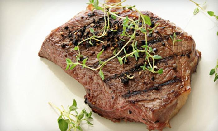 Armani's - Greensboro: Upscale American Dinner for Two, Four, or Six at Armani's in Greensboro