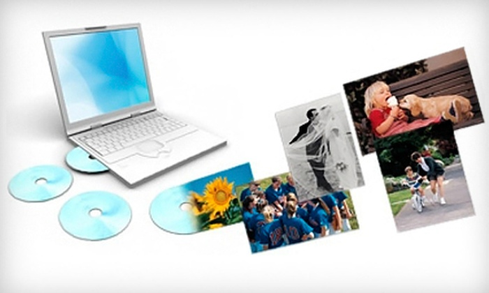 ScanMyPhotos.com: Photo-Scanning Package with Standard or High-Resolution Images from ScanMyPhotos.com (Up to 70% Off)