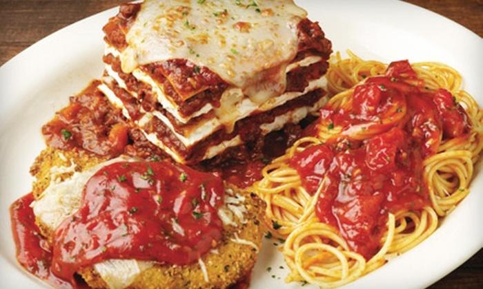 Carino's Italian - Multiple Locations: $10 for $20 Worth of Authentic Italian Fare at Carino's Italian